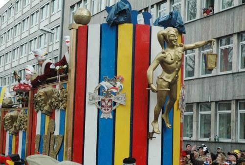 Mainz Carnival Parade Rosenmontag Gott Jokus