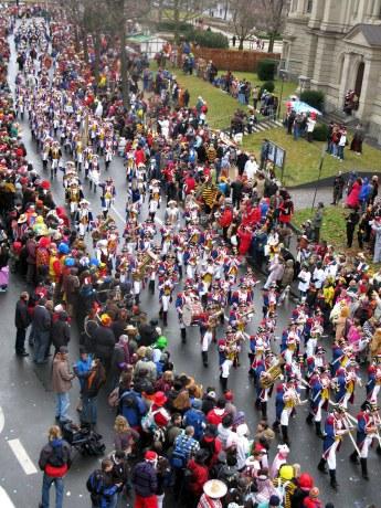 Mainz-Carnival-Parade-Rosenmontag-Ranzengarde-Band