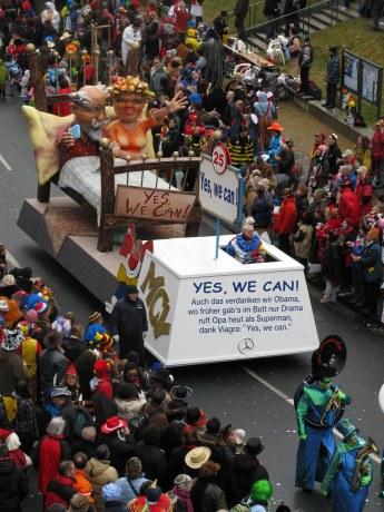 Mainz Carnival Parade Rosenmontag Viagra