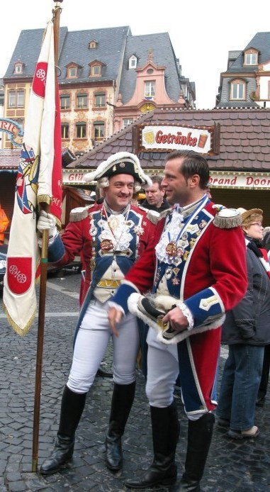 Mainz Carnival Sunday Gardes