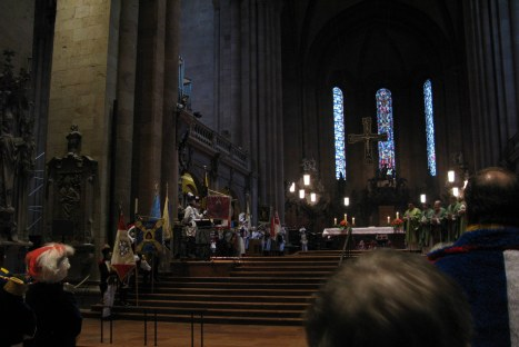 Mainz Carnival Sunday cathedral mass