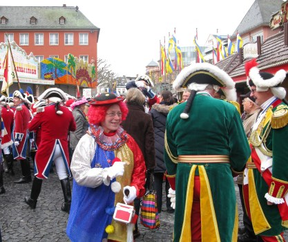 Mainz Carnival Sunday colourful costumes