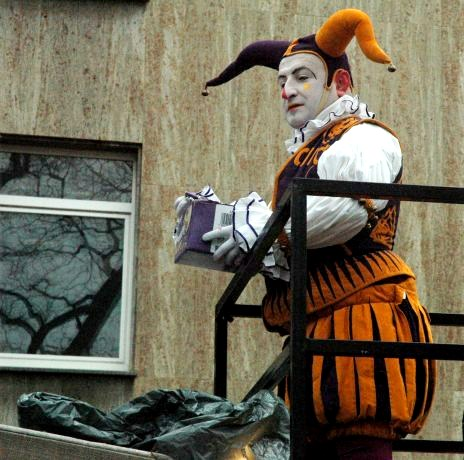 Mainz Fastnacht Jester Carnival Costume