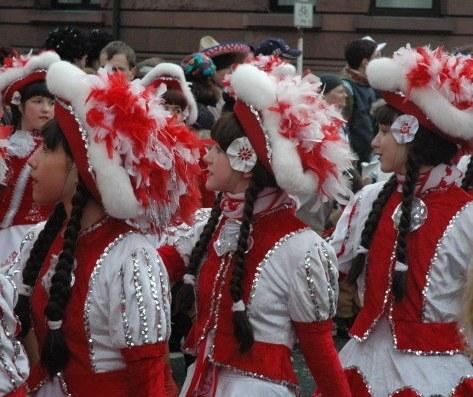 Mainz Fastnacht folk costumes