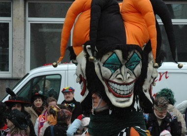 Mainz Fastnacht two faces