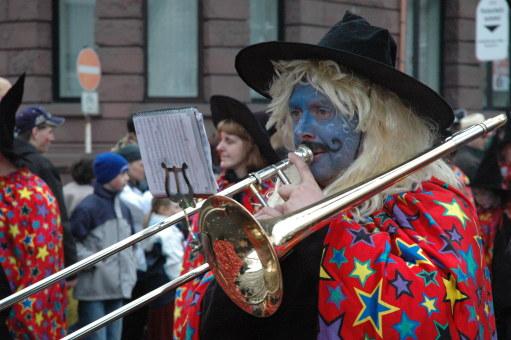 Mainz Fastnacht wizard costumes