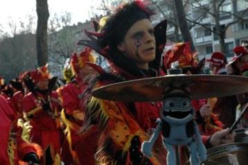 Mainz Fastnacht devilish band