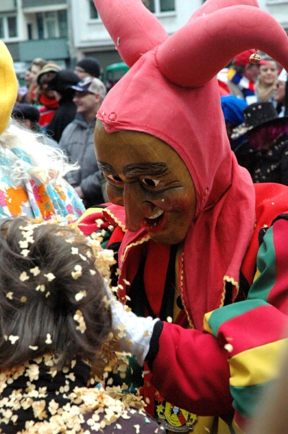 Mainz Fastnacht friendly jester costumes