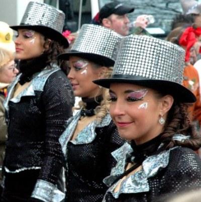 Mainz Fastnacht silver hats