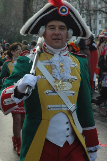 Mainz Germany Carnival Garde in Uniform