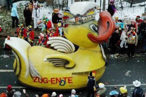 Mainz Rosenmontag Ente