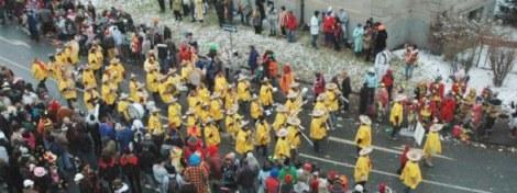 Mainz Carnival Parade Mexican band