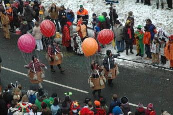 Mainz Rosenmontag balloonists