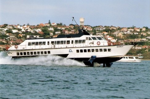 Manly Hydrofoil ferry Sydney Harbour