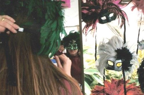 Mardi Gras masks New Orleans