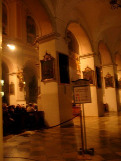 Munich Christmas Market Assam church service