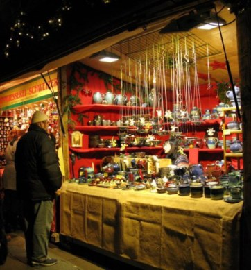 Munich Christmas Market ceramics