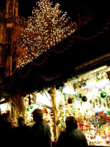 Munich Christmas Market glass ornaments