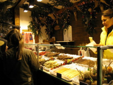 Munich Christmas Market kebab sweet things