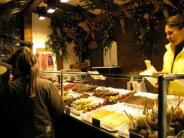 Munich Christmas Market kebab sweet things