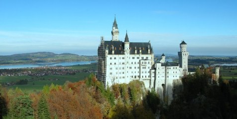 Neuschwanstein Castle from the Marienbrücke