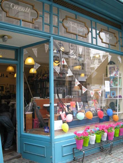 Occult Bookshop in Bloomsbury London
