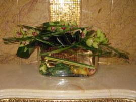 Orchid arrangement Emirates Palace Hotel Abu Dhabi