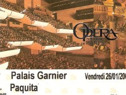 Paris Garnier Ballet ticket for Ballet 'Paquita'