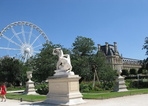Tuileries gardens for Plus grand jardin de paris