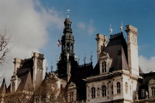 Hôtel de Ville – the Town Hall of Paris
