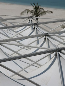 Patterns of Iftar tent Emirates Palace Hotel Abu Dhabi
