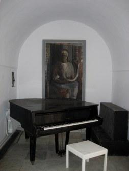 Piano of Dar Sebastian Hammamet Tunisia