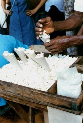 Popcorn cones – Havana