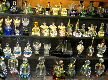 Qatar Doha Old Souk Perfume Bottles