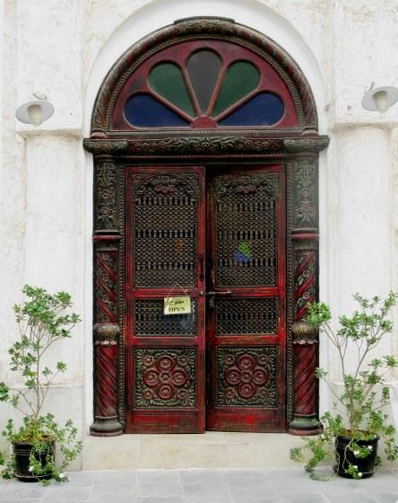 Qatar Doha Old Souk doorway