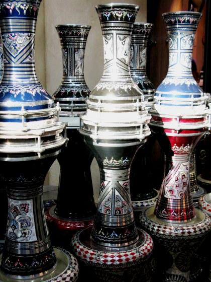 Qatar Doha Old Souk drums