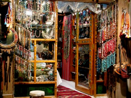 Qatar Doha Old Souk jewellery shop