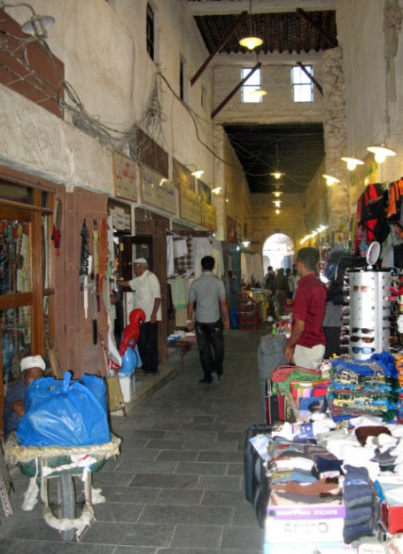 Qatar Doha Old Souk passage
