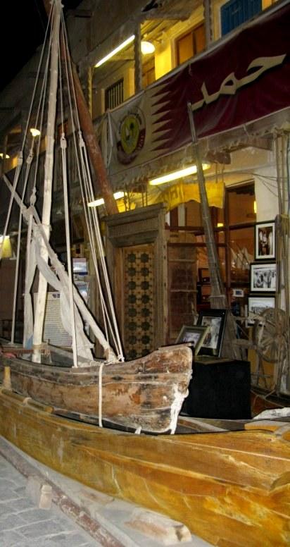 Qatar Doha Old Souk wooden crafts