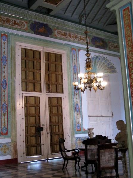 Reception room Palacio Cantero Trinidad de Cuba