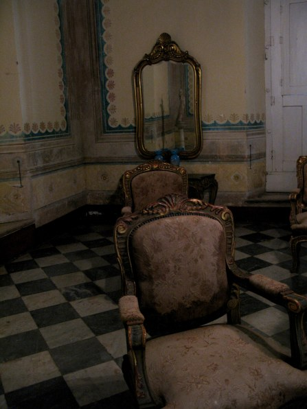 Reflected images Palacio Cantero Trinidad de Cuba