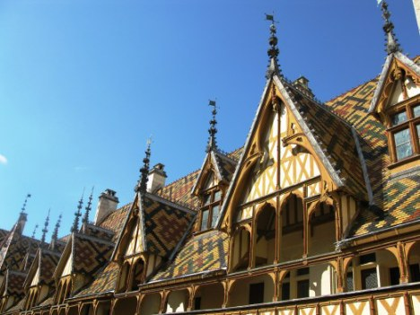Roof features Hospices de Beaune