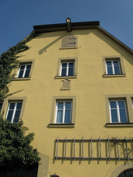 Rothenburg ob der Tauber 1576-house