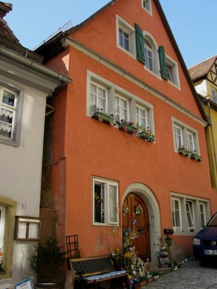 Rothenburg ob der Tauber Easter decor