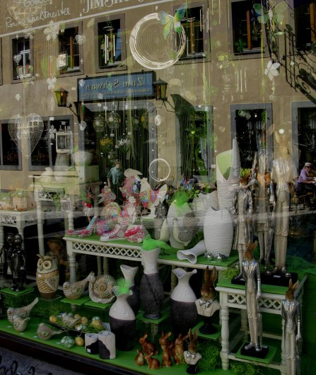 Rothenburg ob der Tauber Easter gift shop