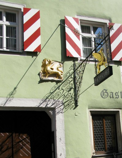 Rothenburg ob der Tauber Griffin