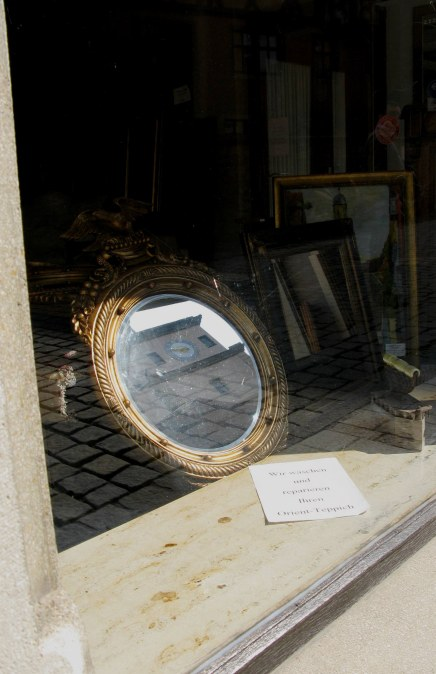 Rothenburg ob der Tauber antique shop