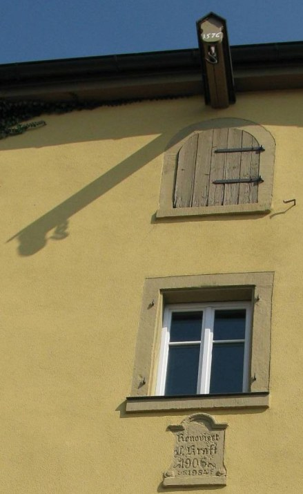 Rothenburg ob der Tauber house renovation dates