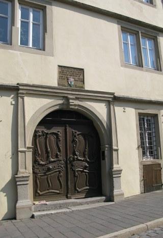 Rothenburg ob der Tauber ornate doors