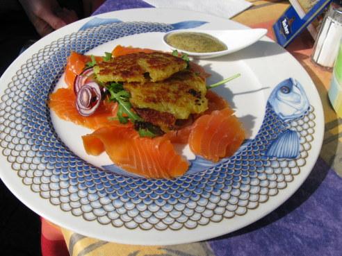 Rothenburg ob der Tauber salmon